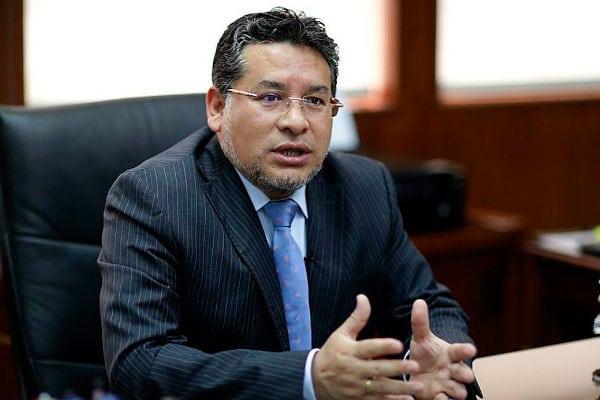Rubén Vargas recibió a familiares de víctimas