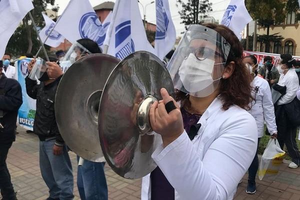 Federación Médica del Perú reiniciarán su huelga nacional indefinida desde el 13 de enero de 2021