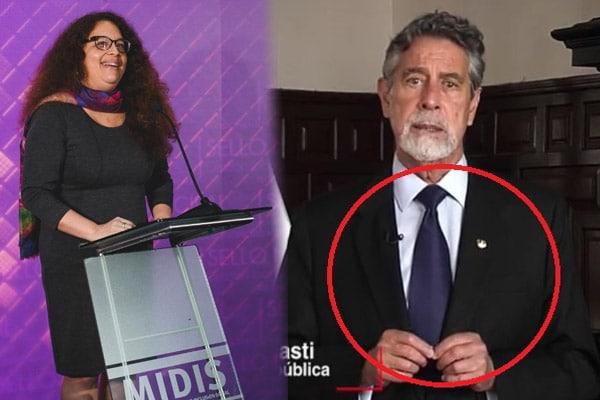 JEE de Lima Centro 1 exhorta a Francisco Sagasti a no usar el color o emblemas del Partido Morado
