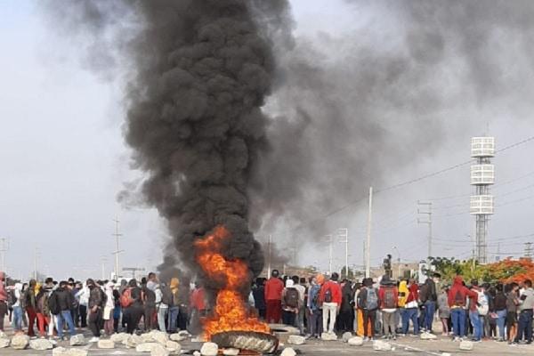 Perucámaras hace un llamado al cese de la violencia en Ica