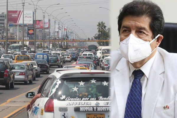 """Miguel Palacios sobre restricción de vehículos privados: """"No va a tener un impacto en la transmisión de la enfermedad"""""""
