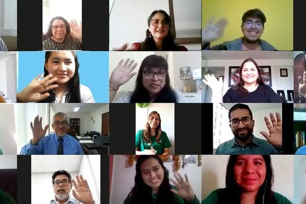 Mimp premia a jóvenes voluntarios que implementarán proyectos virtuales en los centros del Inabif