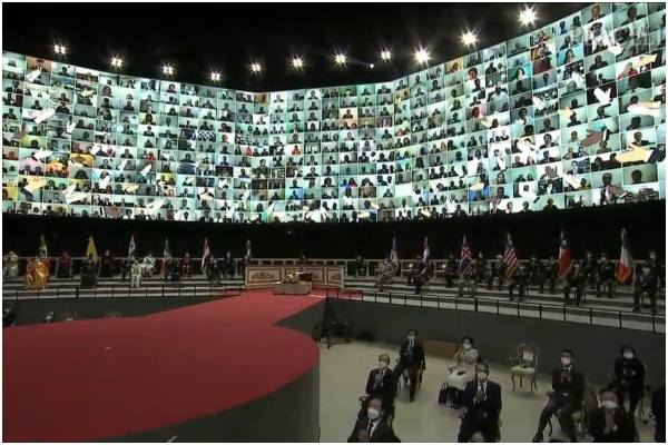 Líderes mundiales invocan por la reunificación de Corea y la paz mundial