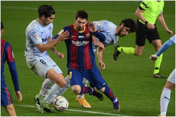 FC Barcelona empató 2-2 ante Valencia por la Liga de España
