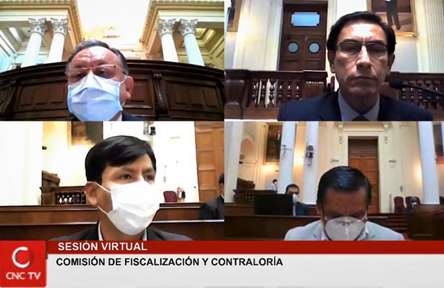 Martín Vizcarra: así fue la sesión de Fiscalización en la que el expresidente guardó silencio | AUDIO