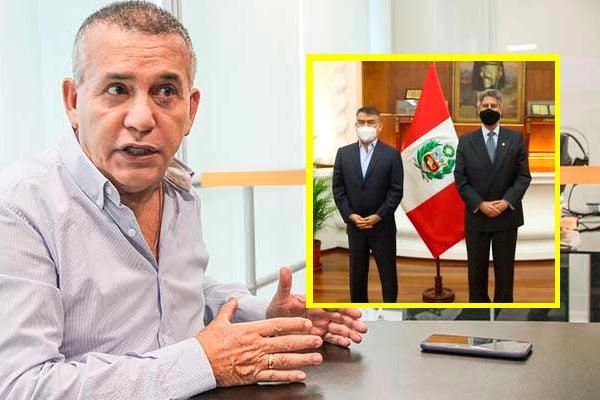 Urresti: «Julio Guzmán está gobernando el país a través de Sagasti»