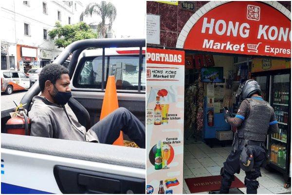 Lince: capturan a delincuente que intentó robar en un minimarket