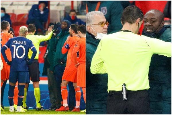 ¡OFICIAL! Suspenden duelo de Champions entre el PSG vs. Istanbul por insulto racista del cuarto árbitro