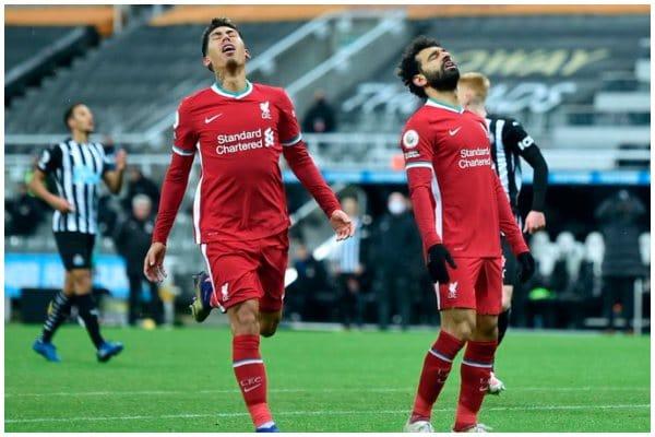 Liverpool empató sin goles ante Newcastle por la Premier League