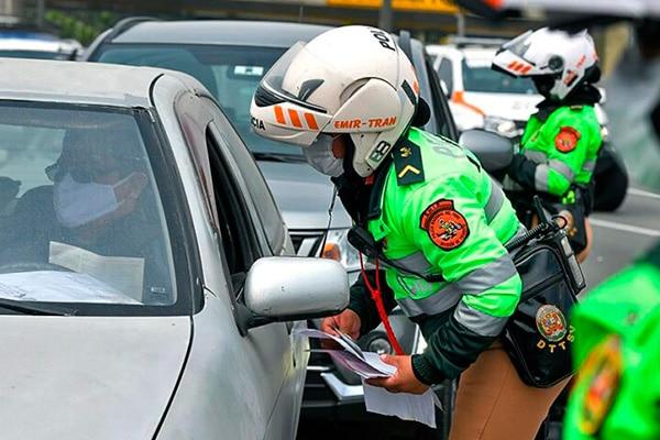 PNP multa a más de 430 conductores