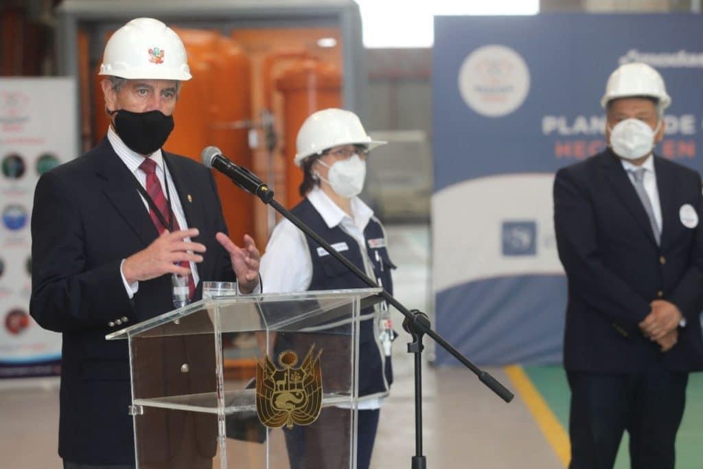 Sector privado entrega plantas de oxígeno para abastecer hospitales