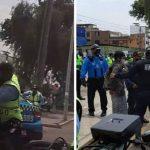 Capturan a motociclista que huyó de intervención en Miraflores