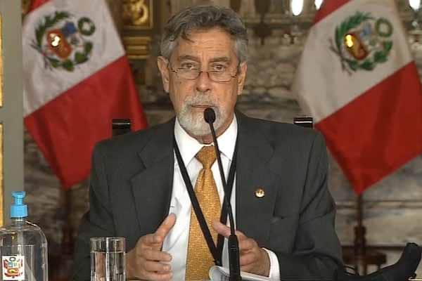 """Francisco Sagasti: """"Estamos listos para iniciar el plan de inmunización"""""""
