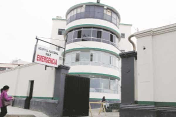 Denuncian irregularidades en Hospital PNP por covid