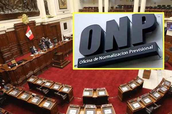 Congreso pide que se declare infundada demanda de inconstitucionalidad contra ley de la ONP