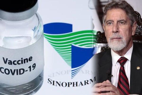 Francisco Sagasti confirmó llegada del primer lote de vacunas de Sinopharm para el 9 de febrero