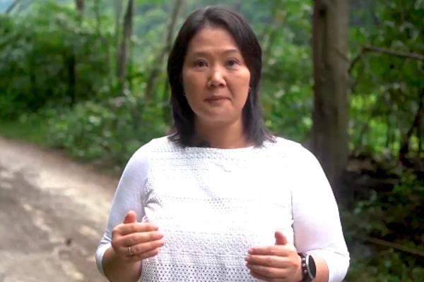 Keiko Fujimori: «No podemos cambiar la Constitución todo el tiempo, podemos reformarla y mejorarla»