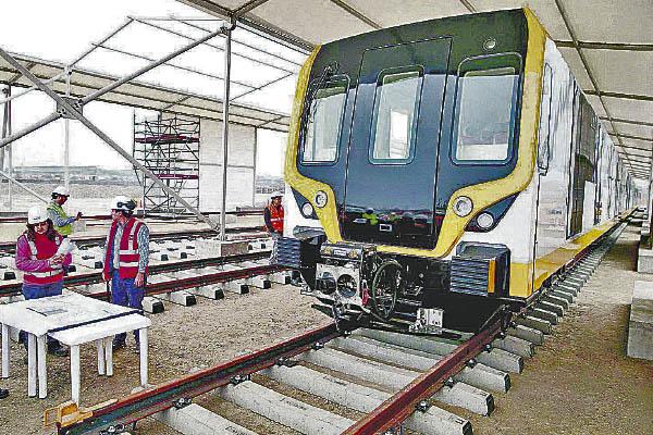 Contrato de Gobierno a Gobierno para Línea 3 del Metro de Lima