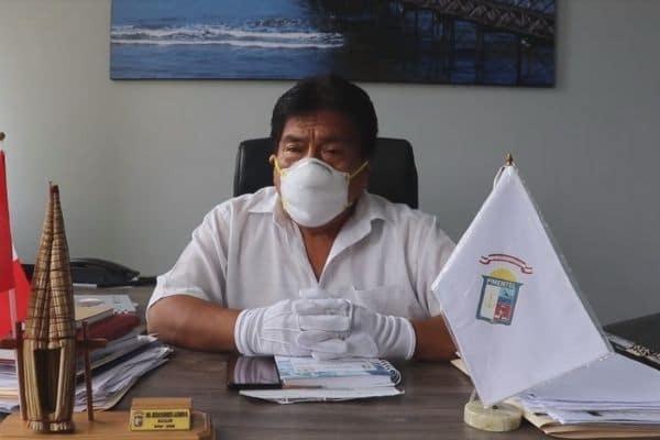 Alcalde de Pimentel fallece por coronavirus