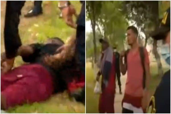 San Martín de Porres: Policía Nacional intervino a un grupo de venezolanos