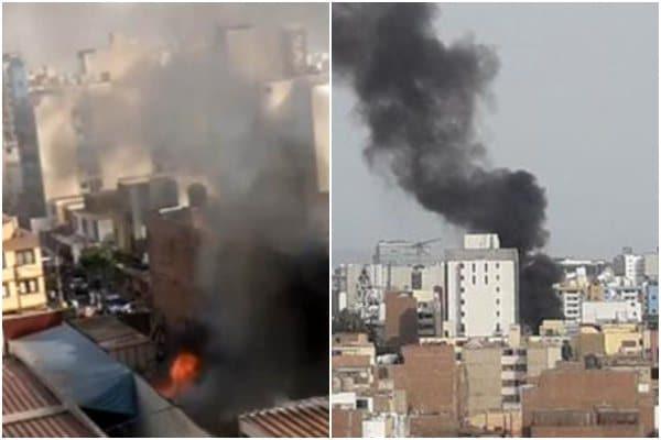 San Miguel: reportan incendio de código 2 en Sucre