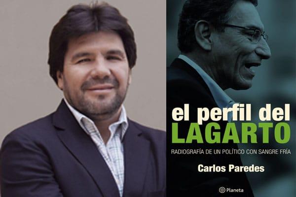 Carlos Paredes presenta su nuevo libro donde investiga la carrera pública de Martín Vizcarra