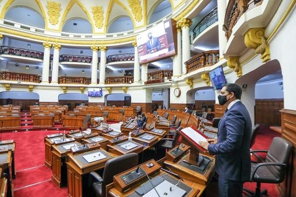 Pleno del Congreso aprobó la eliminación de la inmunidad parlamentaria