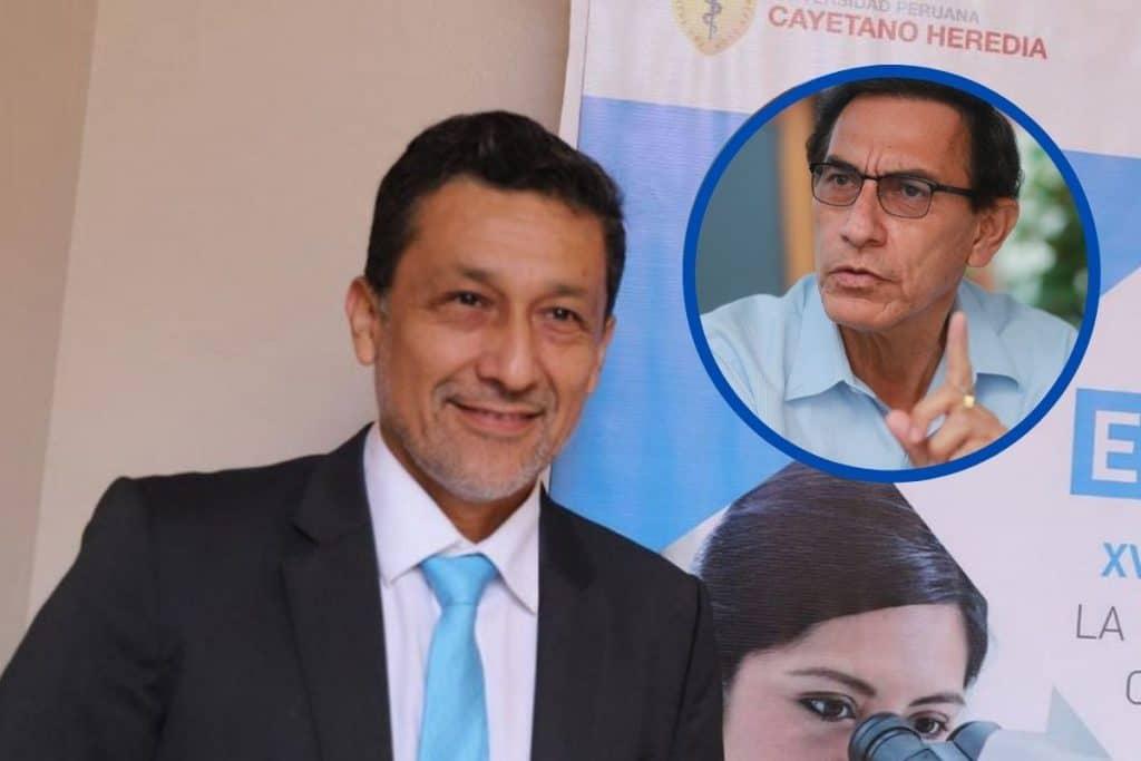 Germán Málaga confirma que Martín Vizcarra le pidió ser vacunado con la fórmula activa de Sinopharm   VIDEO