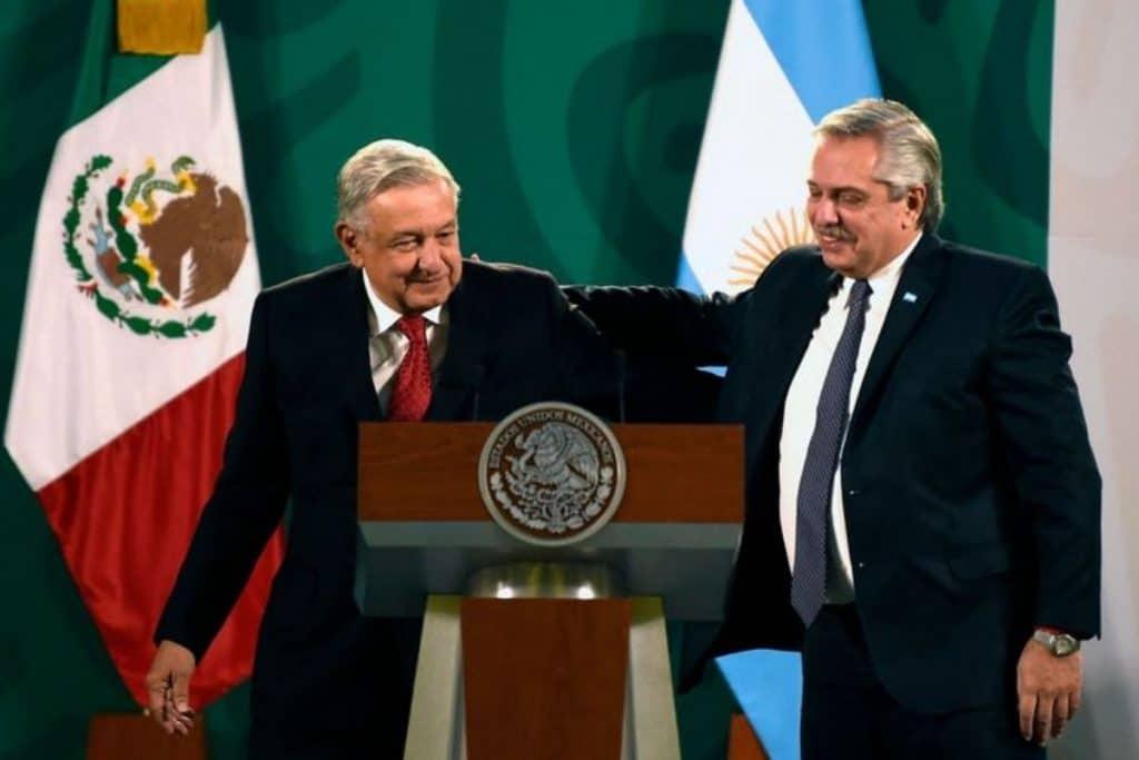 Andrés Manuel López Obrador y Alberto Fernández refuerzan diplomacia