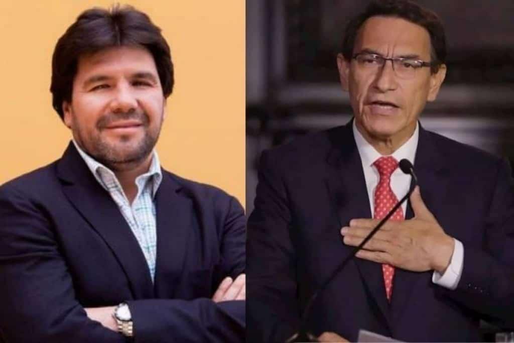 Martín Vizcarra sobre Carlos Paredes: «Lo que afirma es fruto del rencor y de una actitud personal en contra de mi persona»