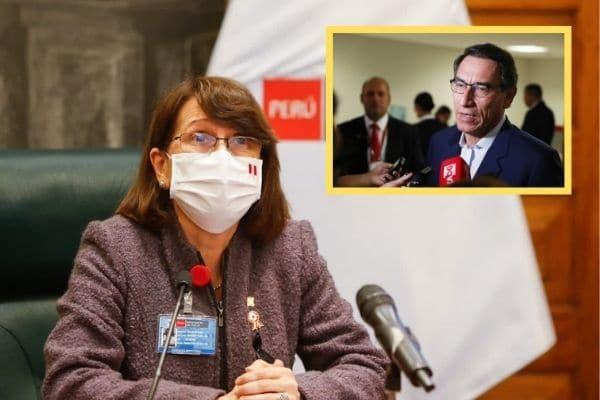 """Pilar Mazzetti sobre Vizcarra: """"Alguien como el presidente debe abstenerse de participar en ensayo clínico"""""""