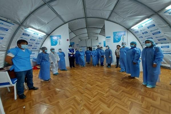 EsSalud Moquegua finaliza al 100% primera fase de vacunación a su personal