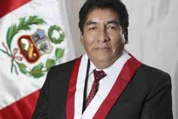 Congreso oficializó vacancia de Hipólito Chaiña, quien falleció a causa del COVID-19