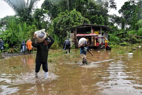 Declaran Estado de Emergencia en Madre de Dios por intensas precipitaciones pluviales