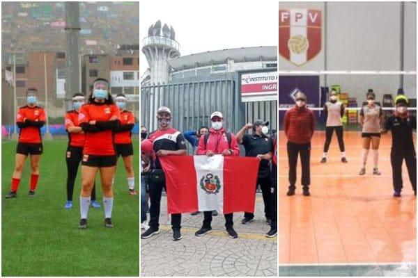 Asociación de Deportistas del Perú solicitan la reactivación de las actividades