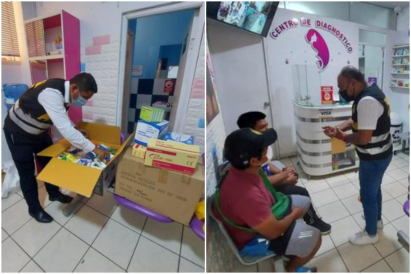 Ate: Policía Nacional intervino consultorio de falsos médicos que realizaba prueba COVID-19