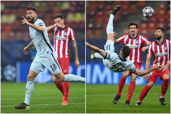 Chelsea venció 1-0 al Atlético de Madrid por la ida de los octavos de final de la Champions League
