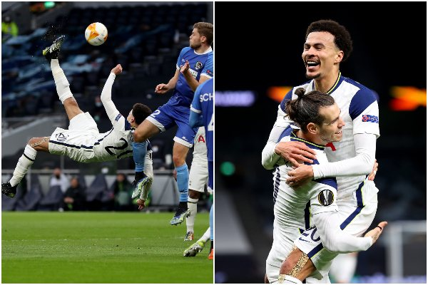 Tottenham goleó y clasificó a los octavos de final de la Europa League