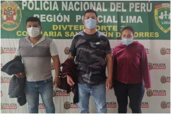 San Martín de Porres: PNP capturó a falsos colectivos que asaltaban a mujeres