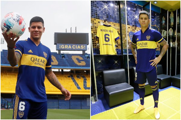 "Marcos Rojos tras su llegada a Boca Juniors: ""Russo me va a utilizar de central"""