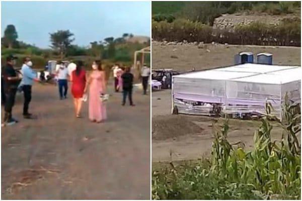 Cañete: Policía Nacional intervino a 40 personas en pleno matrimonio