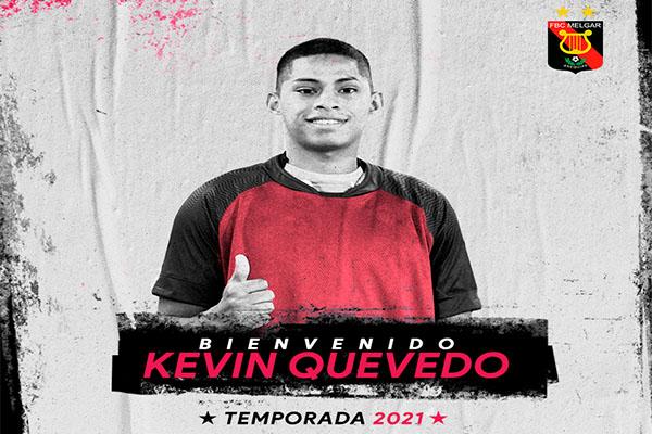 ¡OFICIAL! Kevin Quevedo es nuevo jugador del Melgar FC