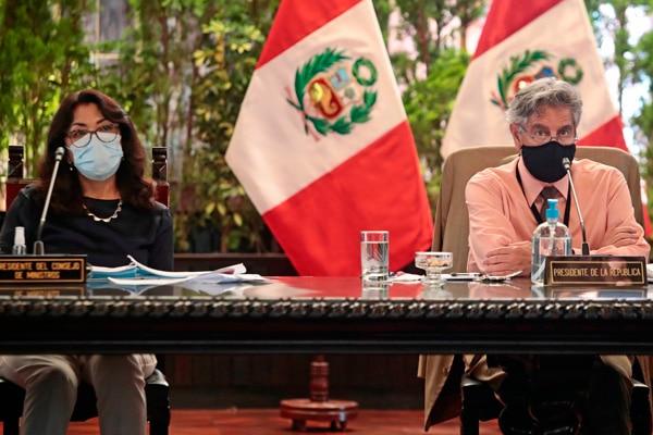 Premier Violeta Bermúdez informó nuevas medidas adoptadas