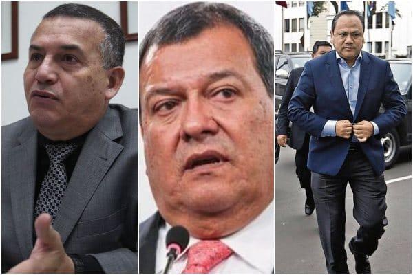 Dejan al voto casos de Urresti, Nieto y González