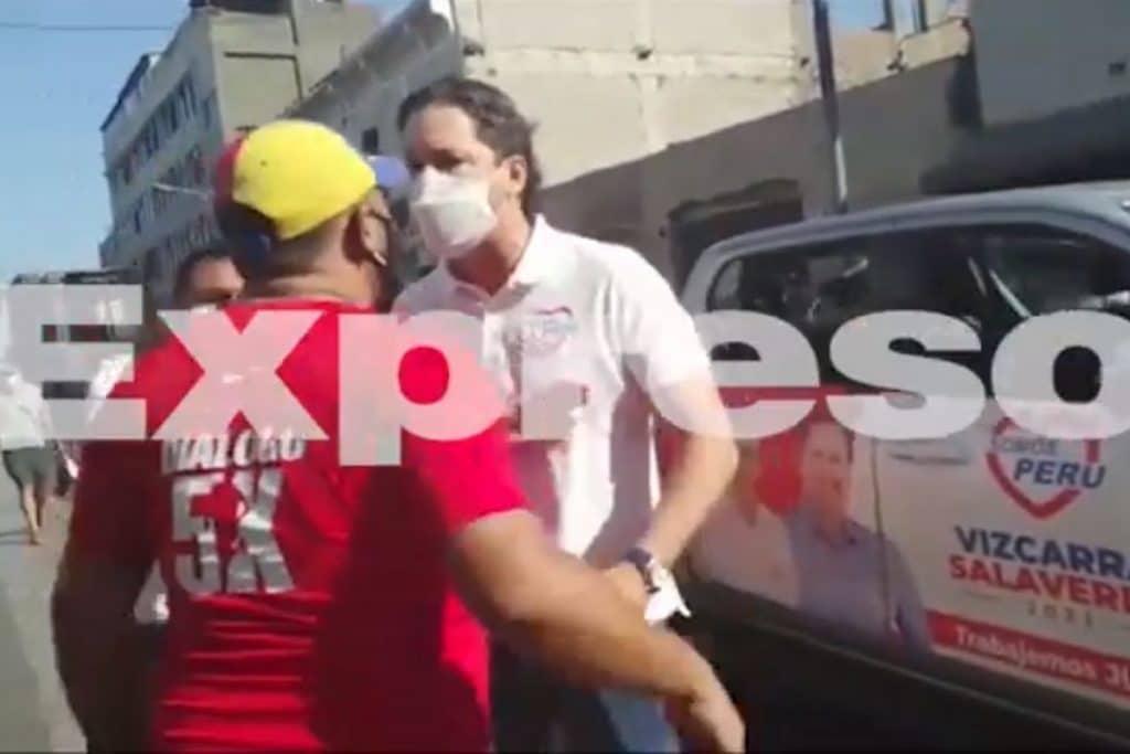 Daniel Salaverry discute con venezolano: «Los voy a expulsar a todos» | VIDEO