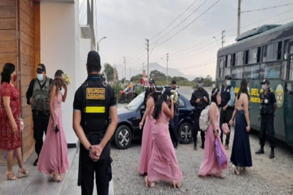 10,500 intervenidos  por 'fiestas covid'