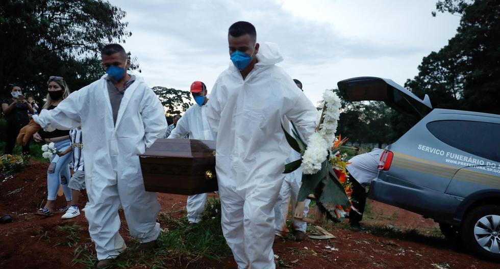 Brasil supera 2,000 muertes en un solo día