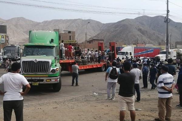 PCM: 71 personas han sido detenidas por la Policía en lo que va del paro de transportistas