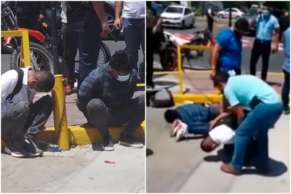 San Isidro: Policía Nacional capturó a delincuentes en pleno robo a dos cambistas