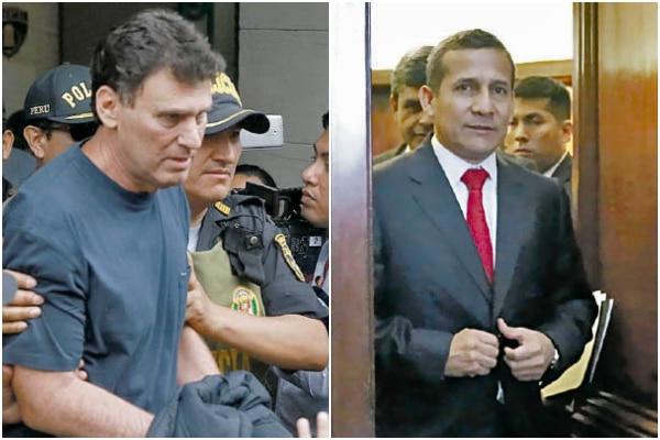 Amplían investigación a JJC por pagos a Humala